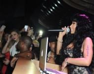 Nicki Minaj at pre-Grammys party