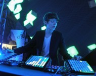 Madeon performs at Kairos Society Global Summit Day 2 - After Party at New York Stock Exchange on February 23, 2013