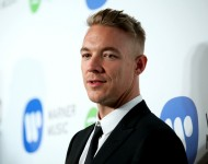Diplo attends the Warner Music Group annual Grammy celebration at Chateau Marmont on February 8, 2015