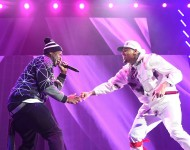 Chris Brown & 50 Cent at Barclays Center Feb. 16, 2015 Between The Sheets Tour