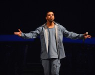Drake performs at Barclays Center on October 28, 2013 in New York City
