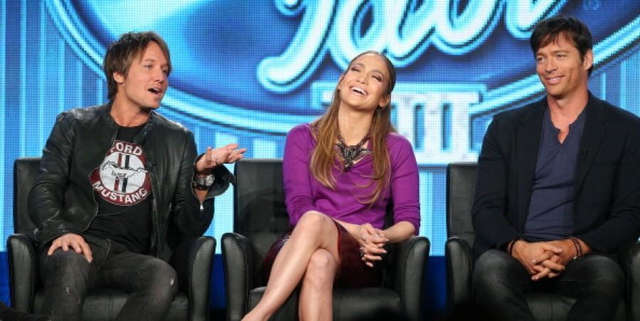 The Idol judges