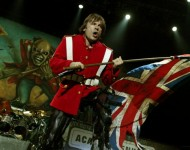 Bruce Dickinson with Iron Maiden