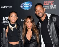 Willow Smith With Her Parents Will and Jada Pinkett Smith