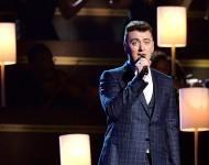 Sam Smith Performing At The Grammys 2015