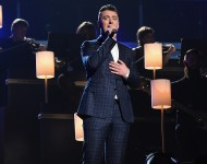 Sam Smith performs during The 57th Annual GRAMMY Awards