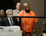 Suge Knight at his arraignment.
