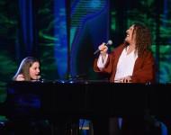 Jodi DiPiazza and Weird Al Yankovic Perform