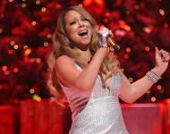 Mariah Carey performs in New York City