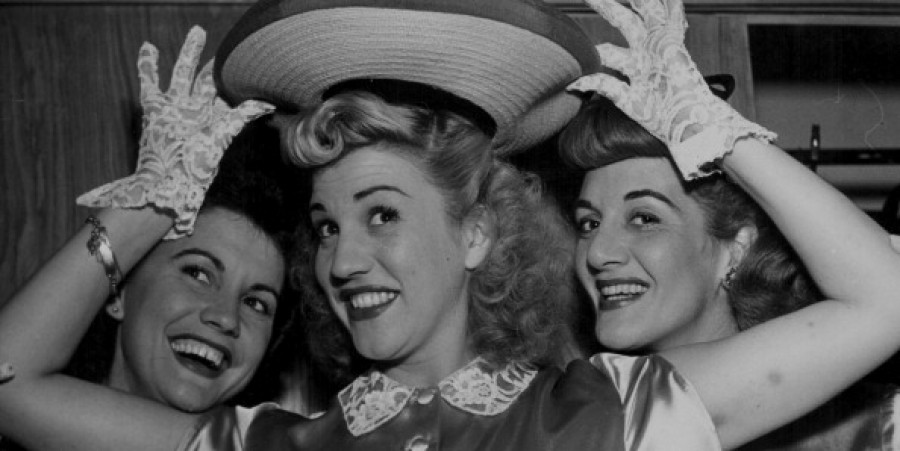 The Andrews Sisters go HAM.