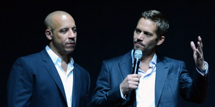 Vin Diesel and Paul Walker of the 'Fast and The Furious' franchise.