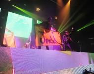 Jack Ü (Skrillex and Diplo) performing at Madison Square Garden NYE 2014