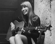 Joni Mitchell in 1968