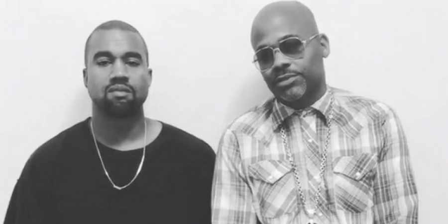 Kanye West and Dame Dash face a lawsuit for their upcoming film 'Loisaidas.'