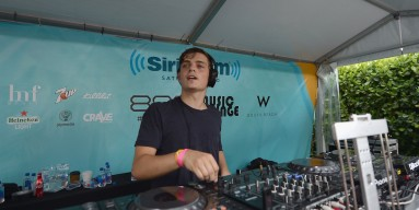 Martin Garrix performs at SiriusXM's 'UMF Radio' Broadcast Live on March 26, 2015 in Miami, Florida