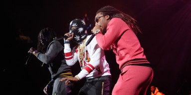 Migos perform on stage at Power 105.1's Powerhouse 2014