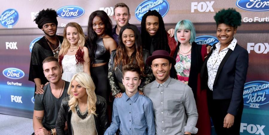 The American Idol contestants