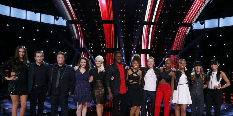 'The Voice' Season 8 Top 12 contestants