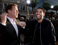 Drake...and a fan.