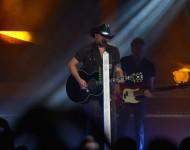 Jason Aldean in concert in Nashville