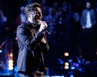 Luke Wade performs on 'The Voice'