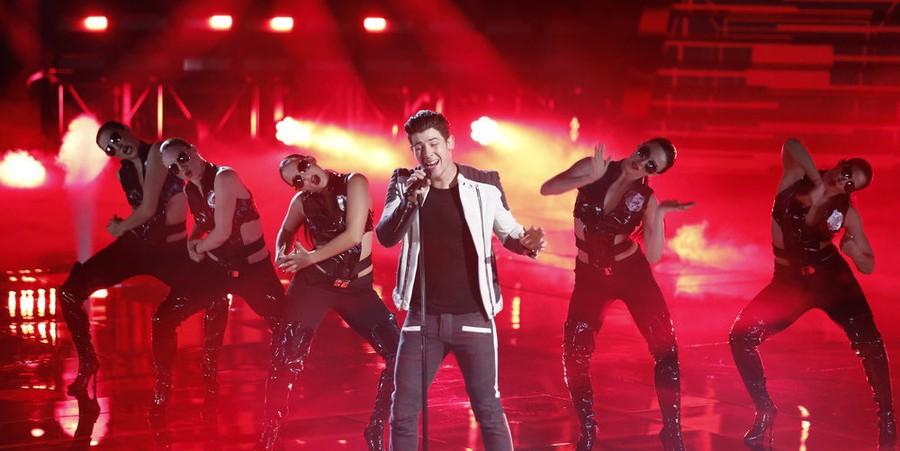 Nick Jonas performs