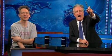 Ad-Rock and Jon Stewart on The Daily Show