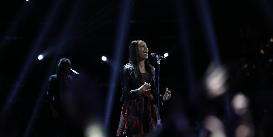 Koryn Hawthorne Performs on 'The Voice'