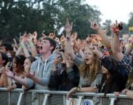 UK Festival-goers