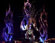 Joey Jordison with Slipknot
