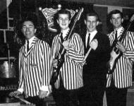 The Kingsmen (Jack Ely, second from left)