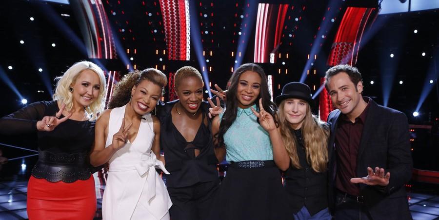 'The Voice' Season 8 Top 6 contestants