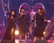 Lil Kim, Patti LaBelle and Amber Riley recently performed together on 'DWTS.'