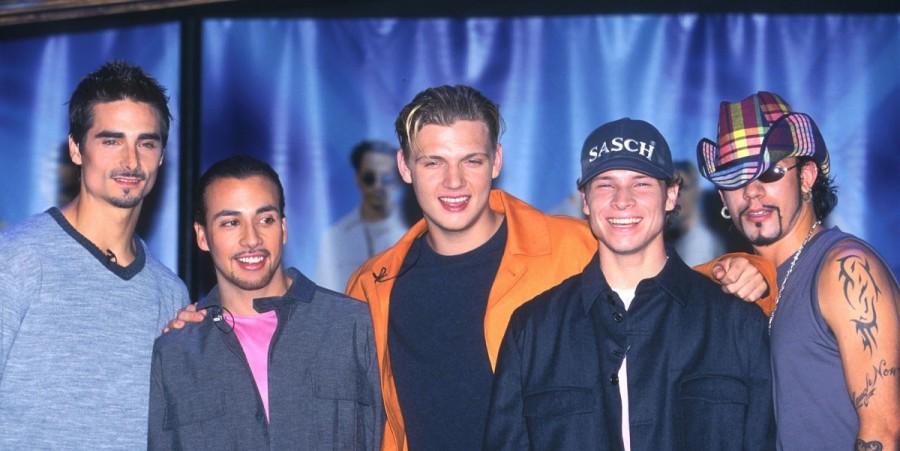 Backstreet Boys in 2000