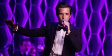 Brandon Flowers performs in 2015
