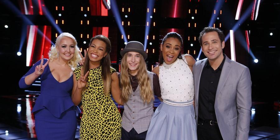 The Voice Season 8 Semi-Finalists