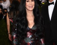 Cher at the Met Gala.