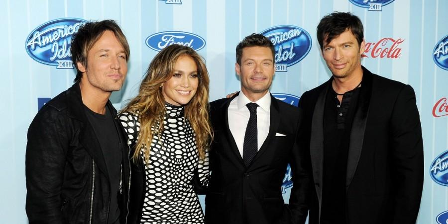 American Idol judges & Ryan Seacrest