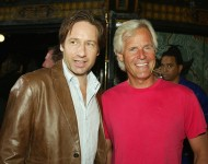 David Duchovny and Chris Carter