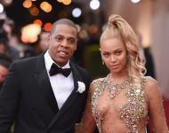 Jay Z & Beyonce at Met Gala 2015