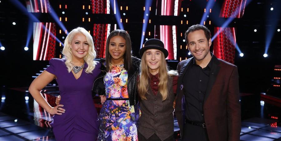 'The Voice' Season 8 Finalists: Meghan Linsey, Koryn Hawthorne, Sawyer Fredericks & Joshua Davis