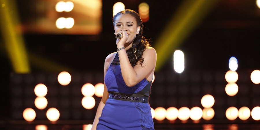 Koryn Hawthorne performs 'Bright Fire' on 'The Voice' Season 8 finale