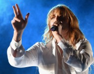 Florence + The Machine performs at Coachella 2015