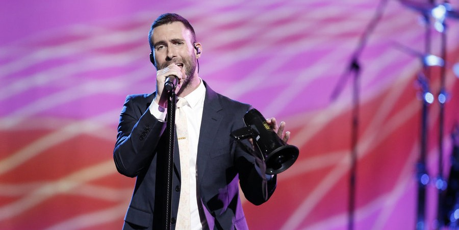 Adam Levine performs 'This Summer's Gonna Hurt' on 'The Voice'