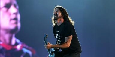 Foo Fighters perform in 2015