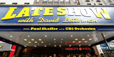 The Ed Sullivan Theater, home to David Letterman for more than 30 years.
