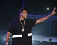 Jay Z performs in NYC