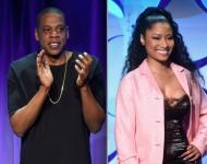 Jay Z and Nicki Minaj