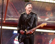 U2's The Edge Performs in NYC