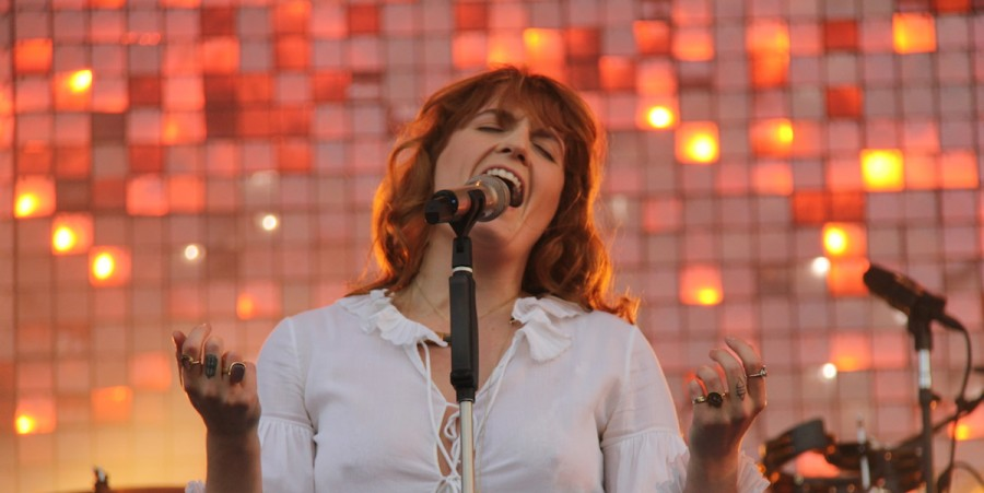 Florence Welch performs